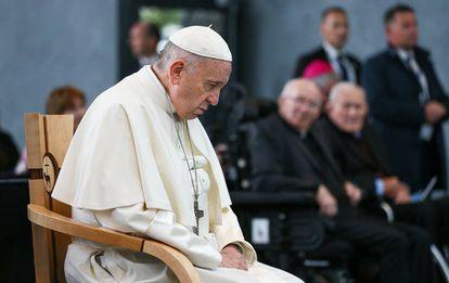El papa Francisco, el pasado 26 de agosto en el santuario irlandés de Knock.