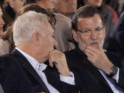 Mariano Rajoy y José Manuel García-Margallo.