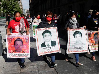 Luz Maria Telumbre, madre de Christian Rodríguez, el estudiante identificado este año.