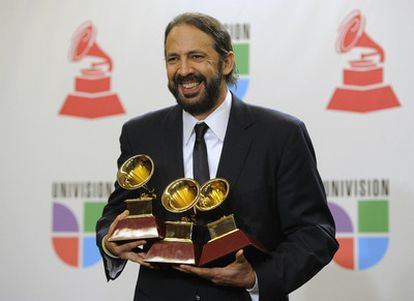 El cantante dominicano Jual Luis Guerra, ganador de tres premios Grammy Latino.