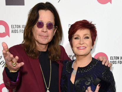 Ozzy y Sharon Osbourne, en 2015.