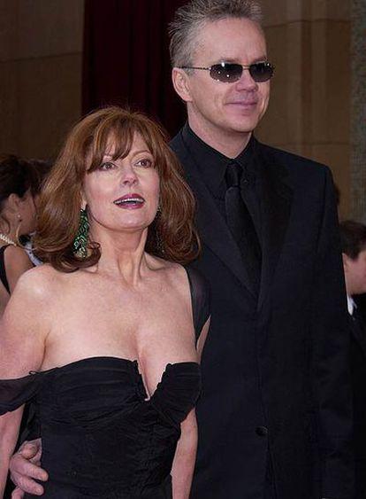 Los actores Susan Sarandon y Tim Robbins