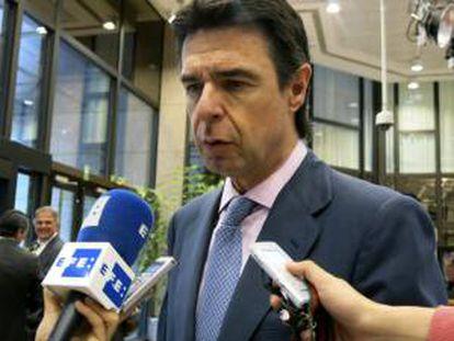 El ministro de Industria español, José Manuel Soria. EFE/Archivo