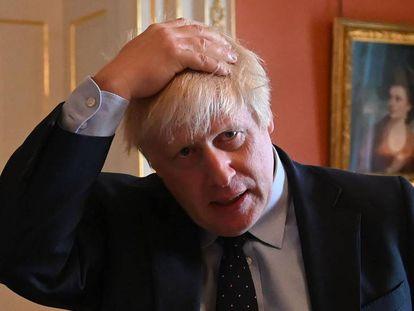 Boris Johnson, el pasado 3 de septiembre, en Downing Street.