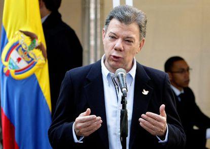 Juan Manuel Santos después de las elecciones del domingo