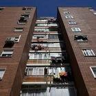 Fuenlabrada (MADRID). 06-05-2021. Edificio en la calle Castilla la Vieja de Fuenlabrada donde el PP ha pasado de ser la cuarta fuerza a ser la primera tras los comicios del 4 de mayo. FOTO: LUIS DE VEGA