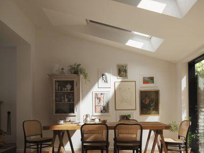 Ventanas inteligentes: saben cuándo abrirse o echar las persianas para renovar el ambiente.