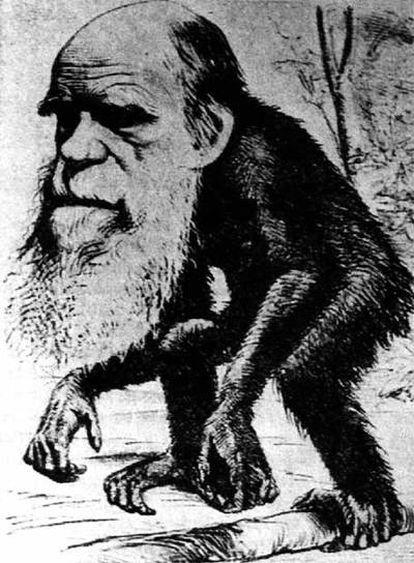 Charles Darwin escribió <i>El origen de las especies</i> como una larga refutación a las teorías del creacionista William Paley.