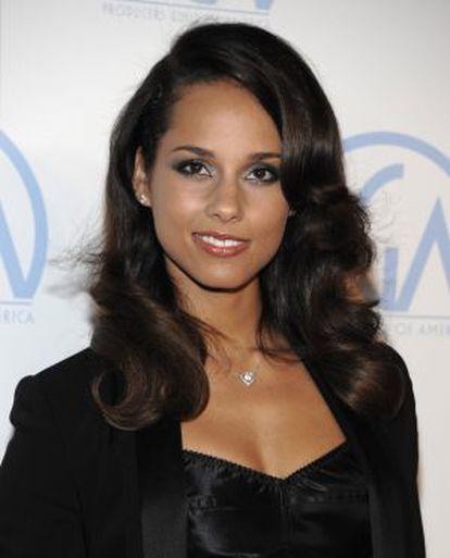 Alicia Keys intervino en un vídeo de apoyo a Megaupload en diciembre.