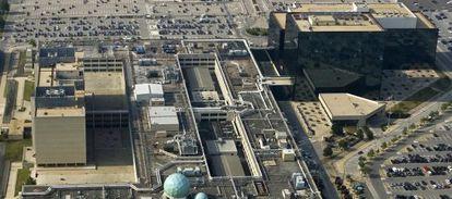 Una de las sedes de la NSA, en Fort Meade, Maryland (EE UU)