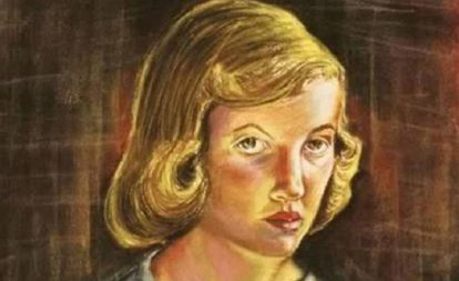 Autorretrato de Sylvia Plath en 1951