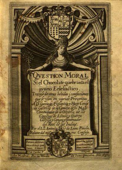 Question moral (1636) de Antonio de León Pinelo.