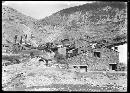 El pueblo de Canillo, lugar en el que se condenó a la pena de muerte por última vez en Andorra. / ÀLEX TENA