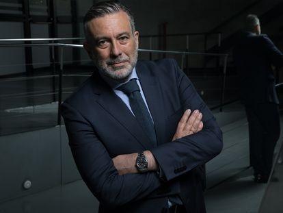 Enrique López, consejero de Justicia en funciones y número 4 en las listas del Partido Popular a la comunidad de Madrid, la semana pasada.
