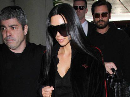 Kim Kardashian, en Los Ángeles.