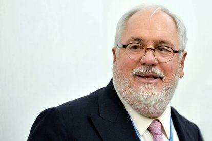 El comisario de Acción por el Clima, Miguel Arias Cañete