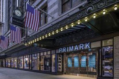 Tienda de Primark en Boston, inaugurada el 10 de septiembre de 2015.
