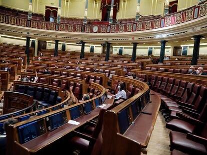Pleno en el Congreso de los Diputados, el 20 de mayo.