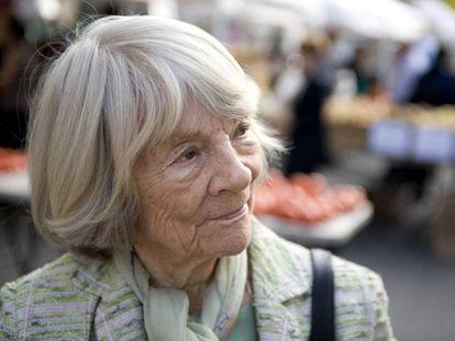 La editora Judith Jones, en 2009.