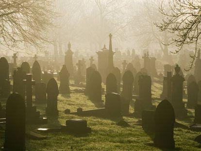 Cementerio de Stoke-on-Trent (Reino Unido).
