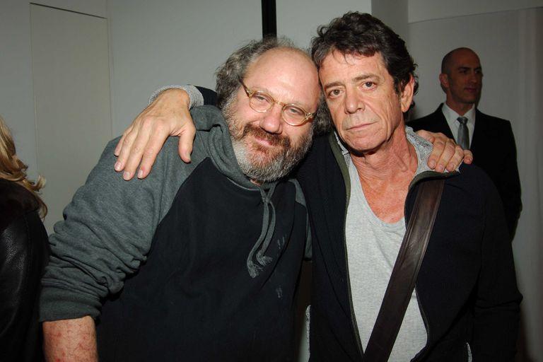 Hal Willner y Lou Reed, en 2006.