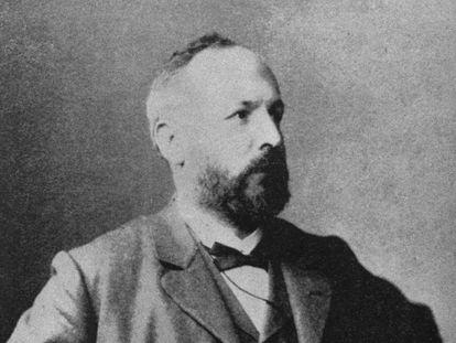 El matemático de origen ruso Georg Cantor.