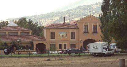 Los Arcos del Real, donde se celebró la boda de Ana Aznar y Agag.