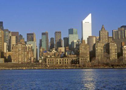 Reconocible por su silueta nívea en el 'skyline' de Manhattan, el edifcio Citicorp esconde una de las historias más truculentas del urbanismo norteamericano.  