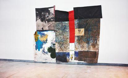 Vistas de la reciente instalación del artista en Madrid.