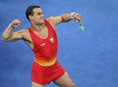 El gimnasta español logra su tercer metal en unos Juegos Olímpicos