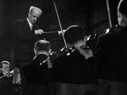Wilhelm Furtwängler, en una imagen de 1941.