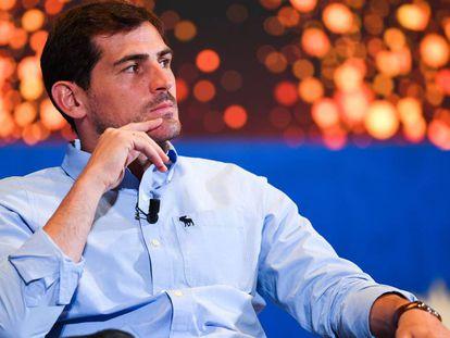 Iker Casillas, candidato a la presidencia de la RFEF.