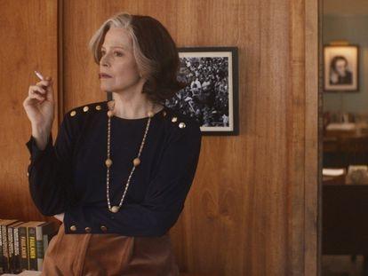 Sigourney Weaver y Margaret Qualley, en 'Sueños de una escritora en Nueva York'.