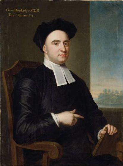 Retrato de George Berkeley realizado por John Smibert.