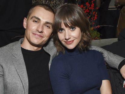 Dave Franco y Alison Brie durante la promoción de 'The Little Hours', en el Festival de Cine de Sundance, a finales de enero de 2017.