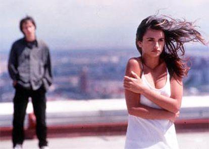 La actriz Penélope Cruz, en <b></b><i>Abre los ojos </i>