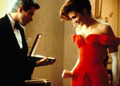 Richard Gere y Julia Roberts en 'Pretty Woman'.