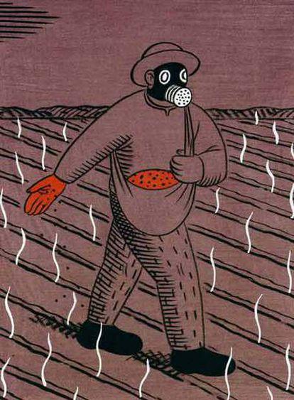 Dibujos de El Roto incluidos en la exposición <i>¡Ambientazo!</i>