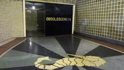 Intervención de los grafiteros de La Cooperativa.