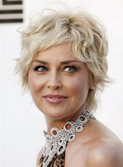 Sharon Stone en una imagen de abril de 2008