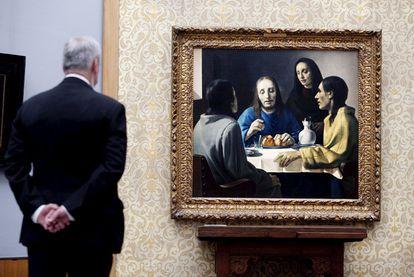 <i>Los discípulos de Emaús,</i> de Van Meegeren, en una exposición del Museo Boijmans van Beuningen de Rotterdam (hasta el 22 de agosto).