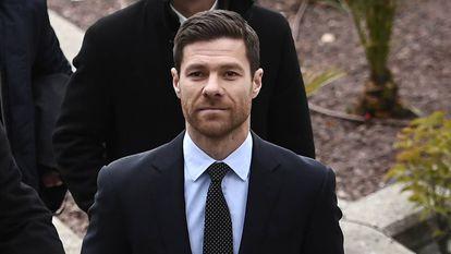 El exjugador Xabi Alonso, en Madrid, en 2019.
