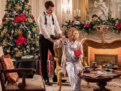 Una imagen de la película 'Un príncipe de Navidad: Bebé real'.
