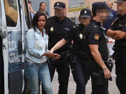 La autora confesa de la muerte del niño Gabriel Cruz, Ana Julia Quezada. En vídeo, su declaración a los agentes durante su detención.