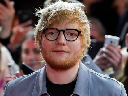 El cantante británico Ed Sheeran, en Berlín en 2018.