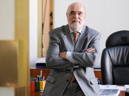 El Delegado del Gobierno, Jesús Loza en el Parlamento vasco en una imagen de archivo.