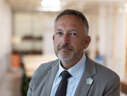 06/09/21 Peter Kraus vom Cleff, presidente de la Federacion de Editores Europeos. Barcelona, 6 de setiembre de 2021 [ALBERT GARCIA]