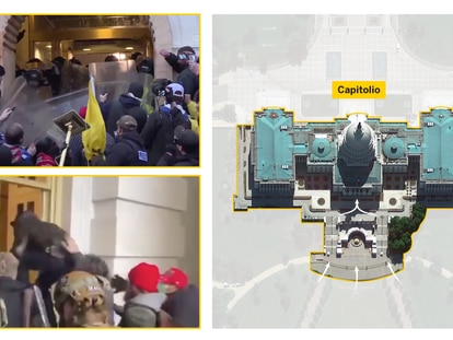 Reconstrucción visual del asalto al Capitolio