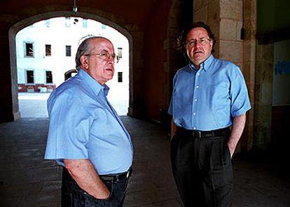 José Martí Gómez, a la izquierda, y Josep Ramoneda.