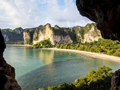 Playa de Phuket, en Tailandia.